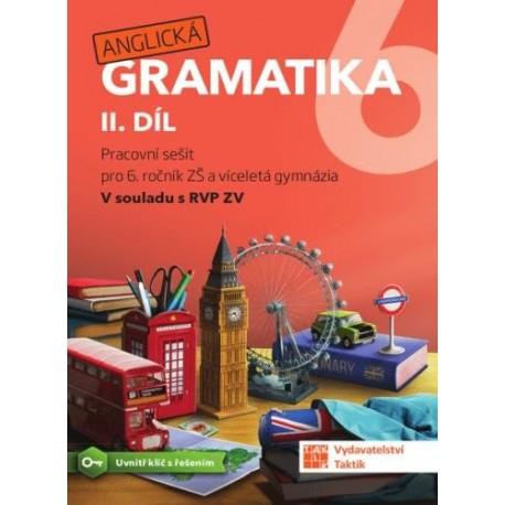 Anglická Gramatika II.díl pracovní sešit s klíčem