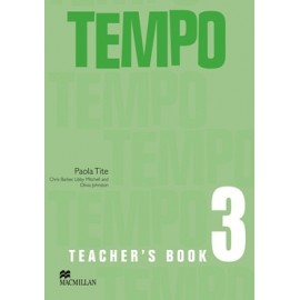 Tempo 3 Teacher's Book