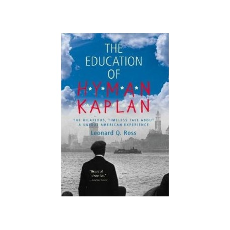 The Education of Hyman Kaplan Harcourt Brace 9780156278119