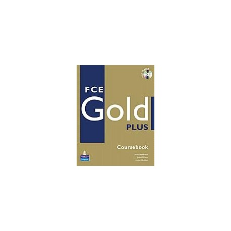 FCE Gold PLUS Coursebook + CD-ROM Longman 9781405876780