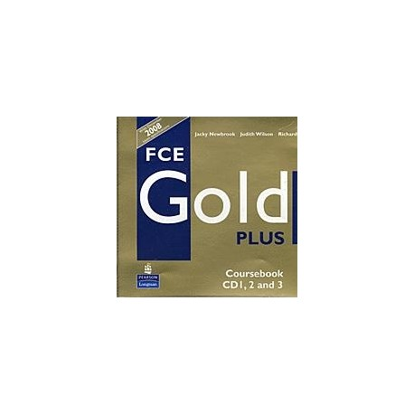 FCE Gold PLUS Class CDs (3) Longman 9781405848732