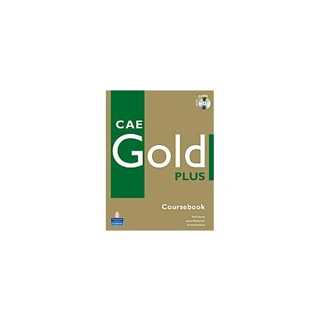 CAE Gold Plus Coursebook + CD-ROM Longman 9781405876803