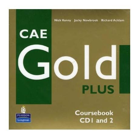 CAE Gold PLUS Class CDs Longman 9781405848657
