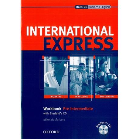 International Express Interactive Edition 2007 Pre-intermediate Workbook with key + CD Oxford University Press 9780194574983