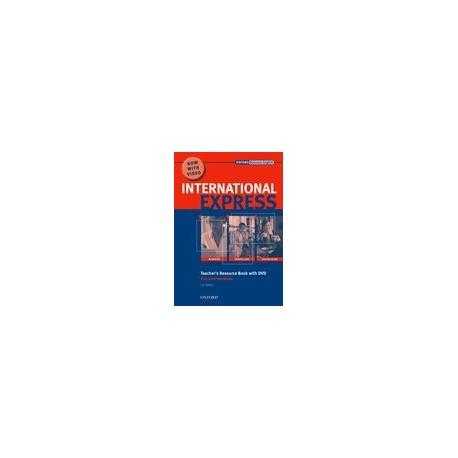 International Express Interactive Edition 2007 Pre-intermediate Teacher's Resource Book + DVD Oxford University Press 9780194597418