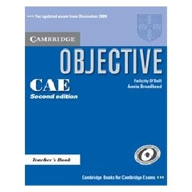 Objective CAE Updated Ed. Teacher's Book