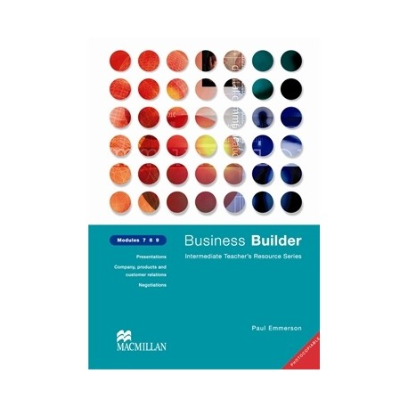 Business Builder Teacher's Resource Book 7, 8, 9 Macmillan 9780333990964