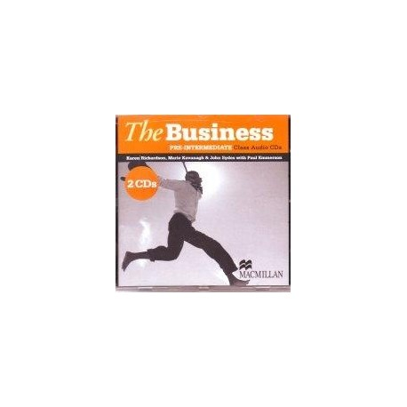 The Business Pre-Intermediate Class Audio CDs Macmillan 9780230021587