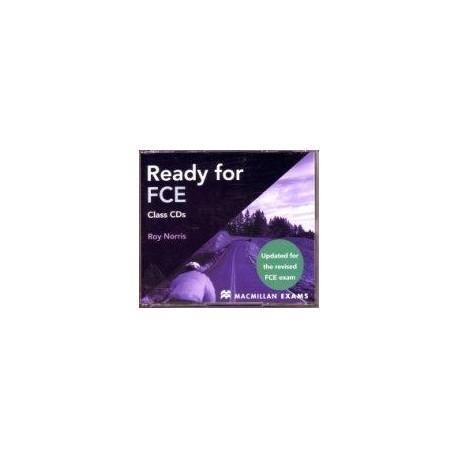Ready for FCE Audio CDs Updated Ed. Macmillan 9780230027640