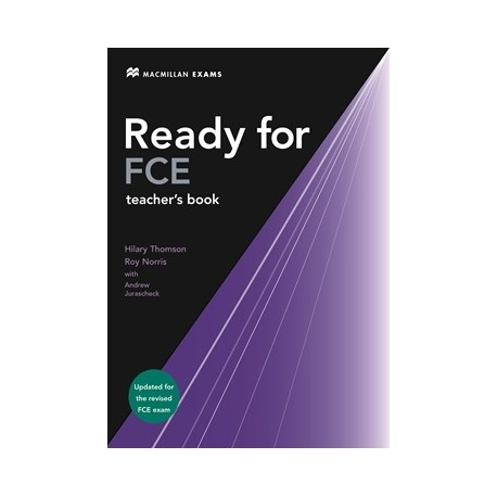 Ready for FCE Teacher's Book Updated Ed. Macmillan 9780230027657