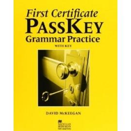 First Certificate PASSKEY Grammar Practice w/k