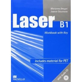 Laser B1 Workbook with Key + CD New Ed.