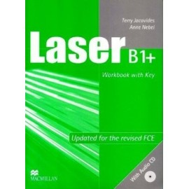 Laser B1+ Workbook (with key) + CD New Ed.