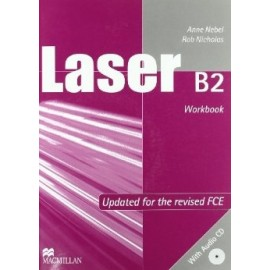 Laser B2 Workobook without key + CD New Ed.