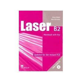 Laser B2 Workbook (with key) + CD New Ed.