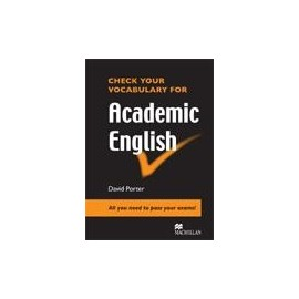 Check Your Vocabulary for Academic English New Ed.