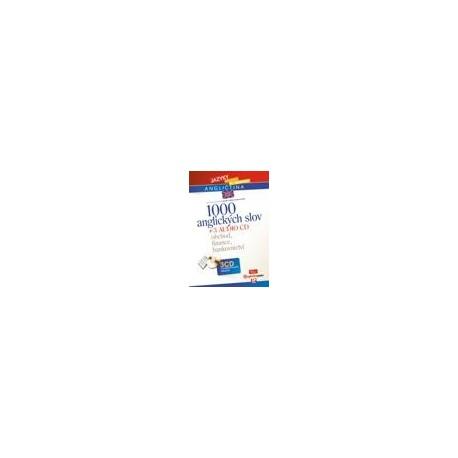 1000 anglických slov + CD - Obchod, finance, bankovnictví CP Books 9788025105719