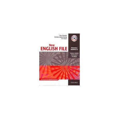 New English File Elementary Multipack B Oxford University Press 9780194518246
