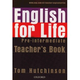 English for Life Pre-Intermediate Teacher's Book + MultiROM