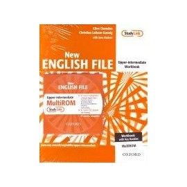 New English File Upper-intermediate Workbook (with answers) + MultiROM