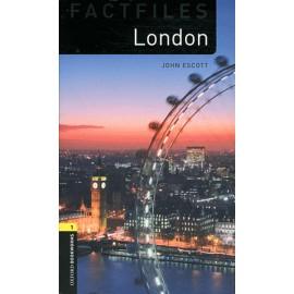Oxford Bookworms Factfiles: London + MP3 audio download