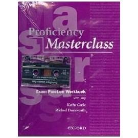 Proficiency Masterclass (New Edition) CPE Workbook and Cassette Pack with key
