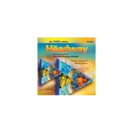 New Headway Pre-intermediate Third Edition Interactive Practice CD-ROM Oxford University Press 9780194716338
