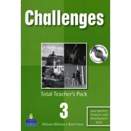 Challenges 3 Teacher's Book + CD-ROM