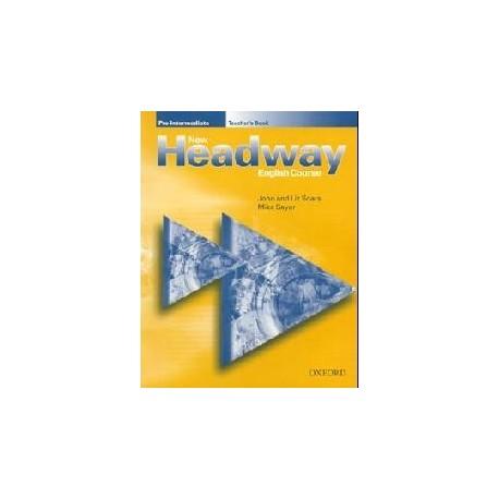 New Headway Pre-Intermediate Teacher's Book Oxford University Press 9780194366717