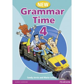 New Grammar Time 4 Student's Book + MultiROM