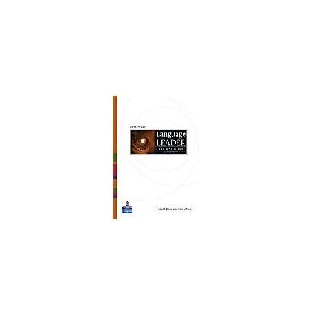 Language Leader Elementary Coursebook + CD-ROM Longman 9781405826860