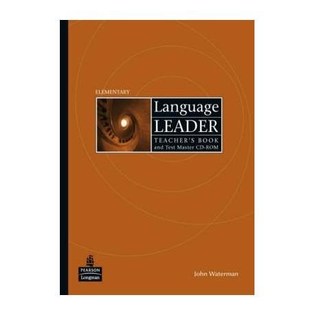 Language Leader Elementary Teacher's Book + Test Master CD-ROM Longman 9781405852869