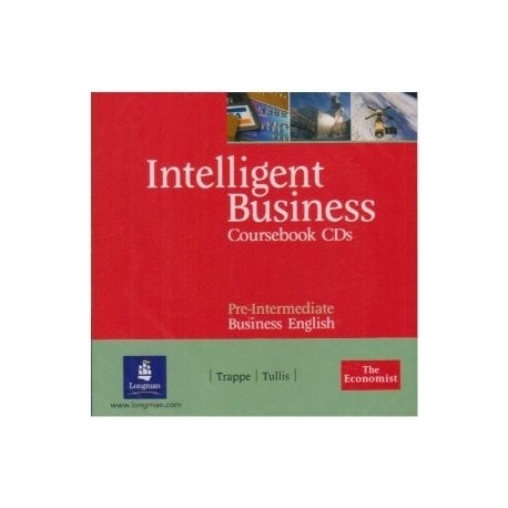 Intelligent Business Pre-Intermediate Coursebook Audio CDs Longman 9780582840515