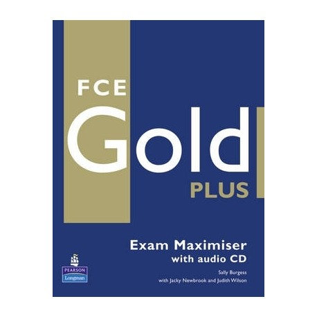 FCE Gold Plus Maximiser (no key) + CD Longman 9781405876827