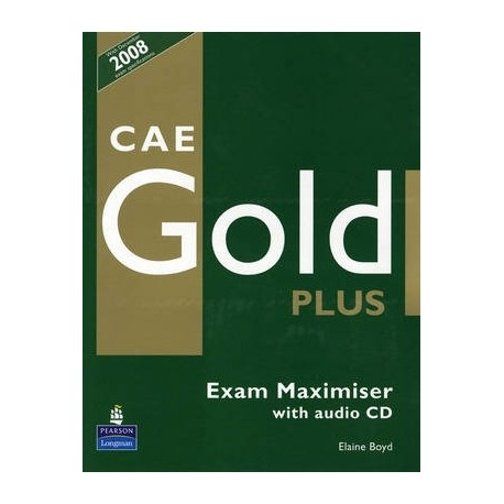 CAE Gold Plus Maximiser (no key) + CD Longman 9781405876834