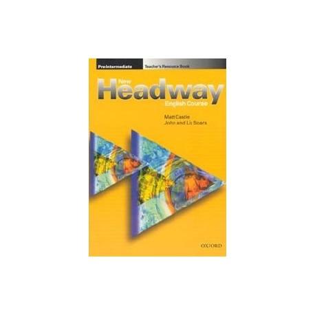 New Headway Pre-Intermediate Teacher's Resource Book Oxford University Press 9780194369367