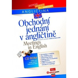 Obchodní jednání v angličtině + CD-ROM