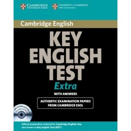 Cambridge Key English Test KET Extra Self-Study Pack with answer + CD + CD-ROM