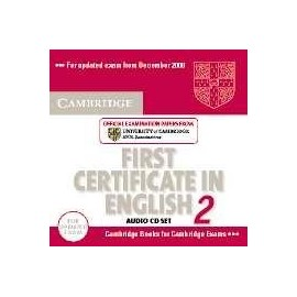 Cambridge First Certificate in English 2 for Updated exam Audio CDs