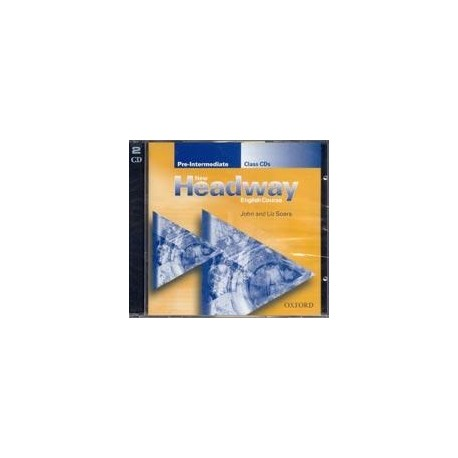 New Headway Pre-Intermediate Class Audio CDs (2) Oxford University Press 9780194376303