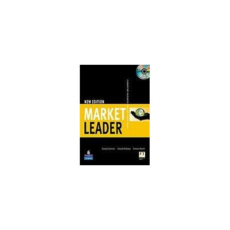New Market Leader Elementary Course Book with Self-study CD-ROM Longman 9781405881326