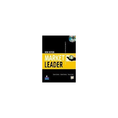 New Market Leader Elementary Course Book with Self-study CD-ROM and Class CD Longman 9781405813358