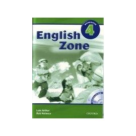 English Zone 4 Workbook + CD