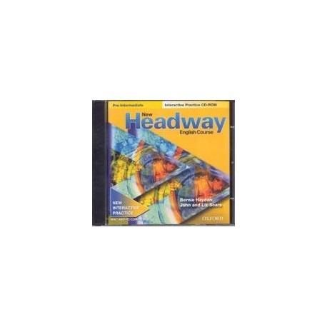 New Headway Pre-Intermediate Interactive Practice CD-ROM Oxford University Press 9780194375696