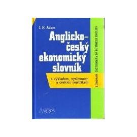 Anglicko-český ekonomický slovník s výkladem výslovnosti a českým rejstříkem