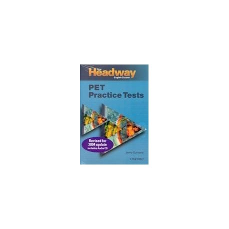 New Headway PET Practice Tests - Student's Book and Audio CD Oxford University Press 9780194386951