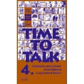 Time to Talk 4 Kniha pro studenty