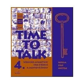 Time to Talk 4 Kniha pro učitele