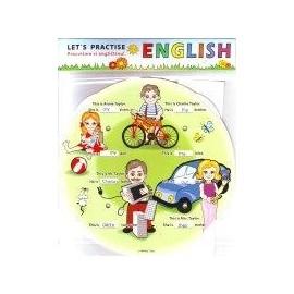 Angličtina pro děti - Let's Practice English - jazykové kolečko