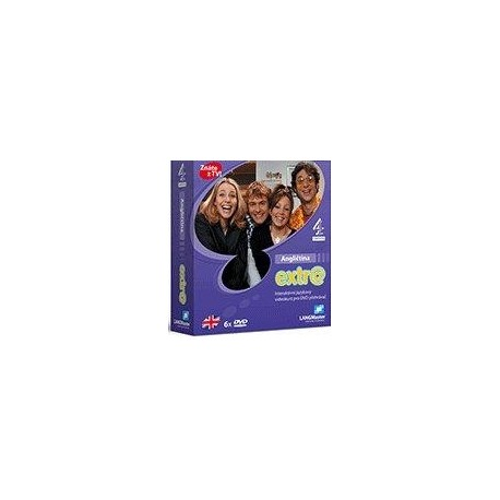 Angličtina Extr@ - interaktivní jazykový videokurz pro DVD přehrávač Langmaster 8595029431970
